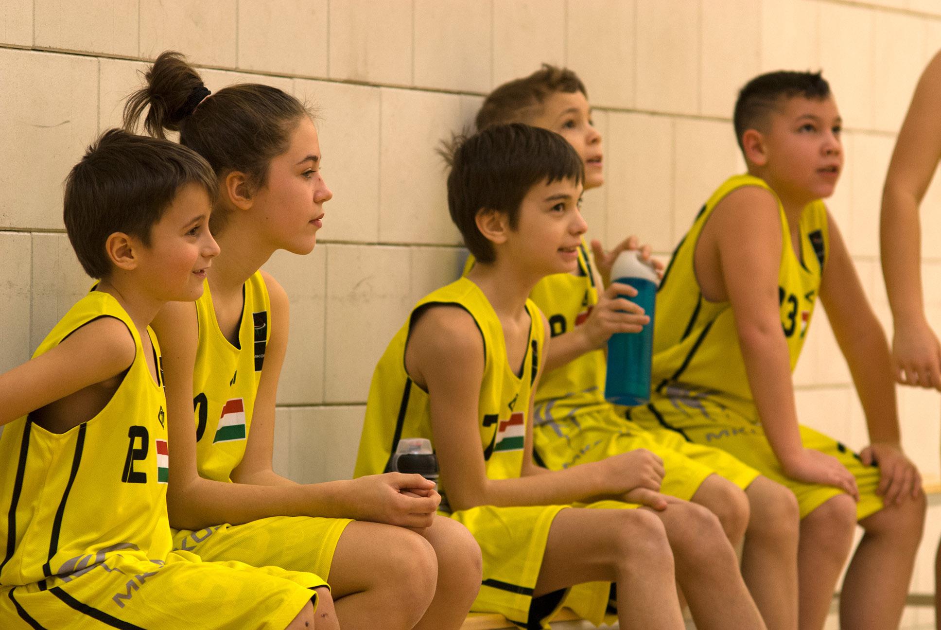 U11 kosárlabda szakosztály